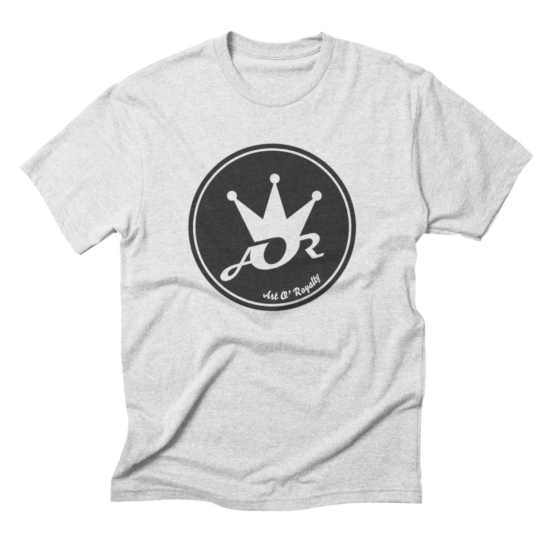 AOR V The 2nd  in Men's Triblend T-shirt Heather White by Art Of Royalty