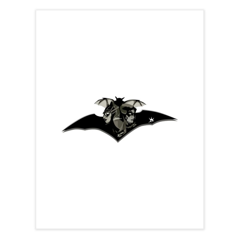 Dark Knight  Home Fine Art Print by Art Of Royalty