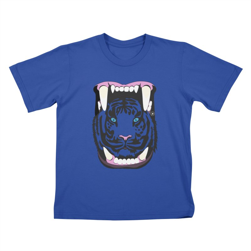 KINGS FOOD Kids T-shirt by Art Of Royalty
