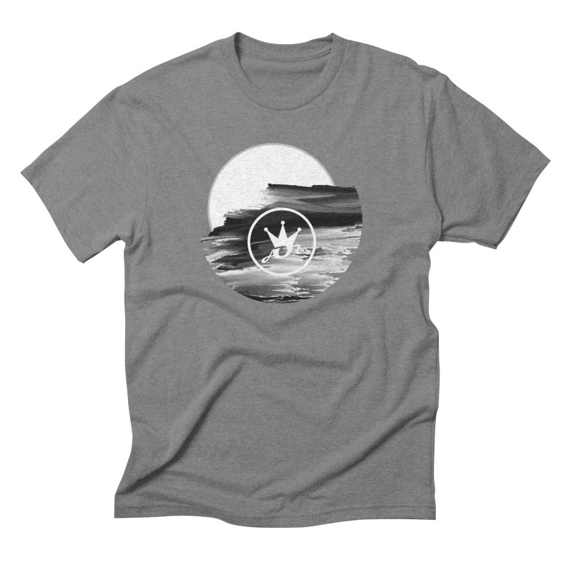ART IN THE CLOUDS Men's Triblend T-Shirt by Art Of Royalty