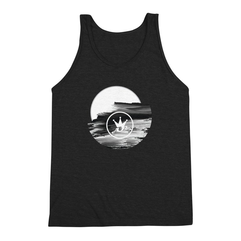 ART IN THE CLOUDS Men's Triblend Tank by Art Of Royalty