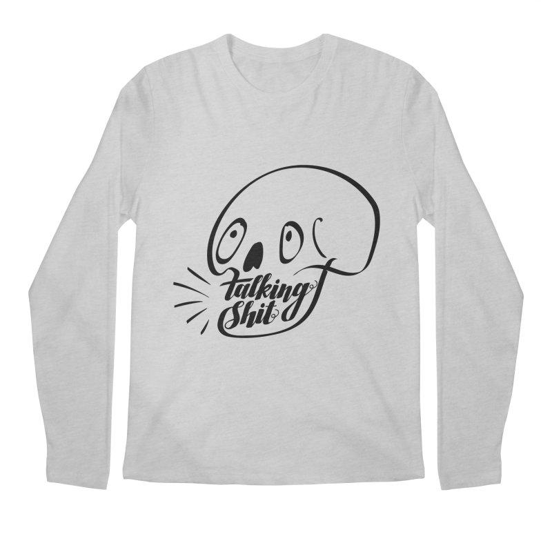 Talking Shit Men's Longsleeve T-Shirt by sturges artist shop