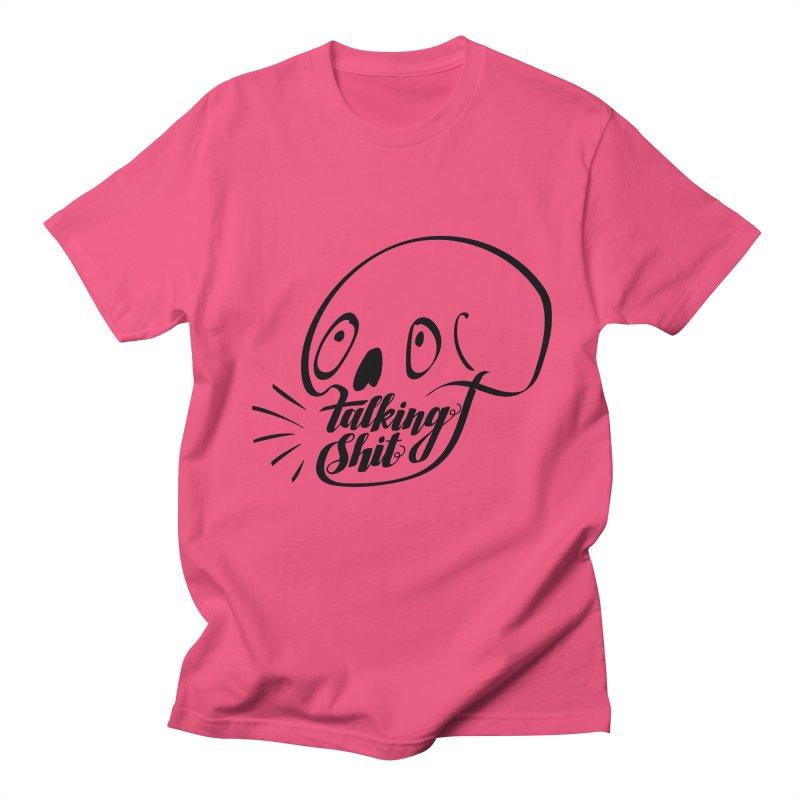 Talking Shit Women's Unisex T-Shirt by sturges artist shop