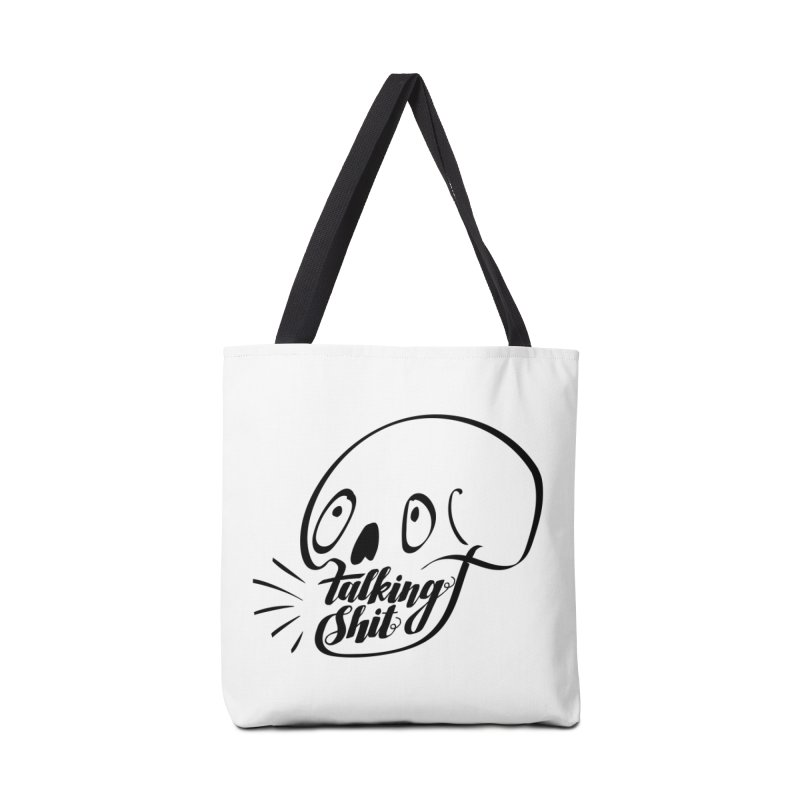 Talking Shit Accessories Bag by sturges artist shop