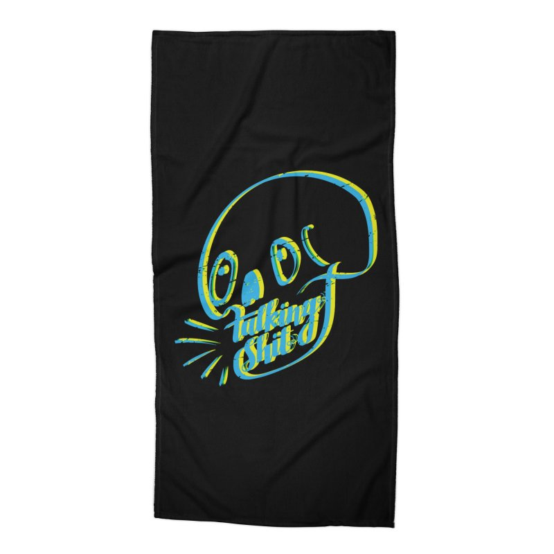talking shit Accessories Beach Towel by sturges artist shop