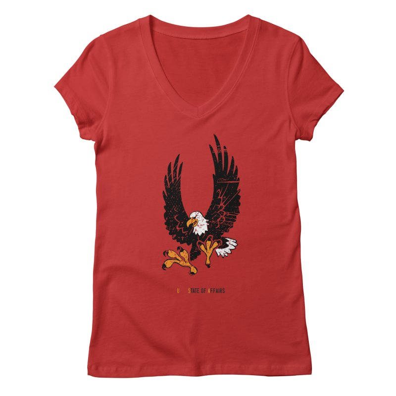 State of Affairs Women's V-Neck by sturges artist shop