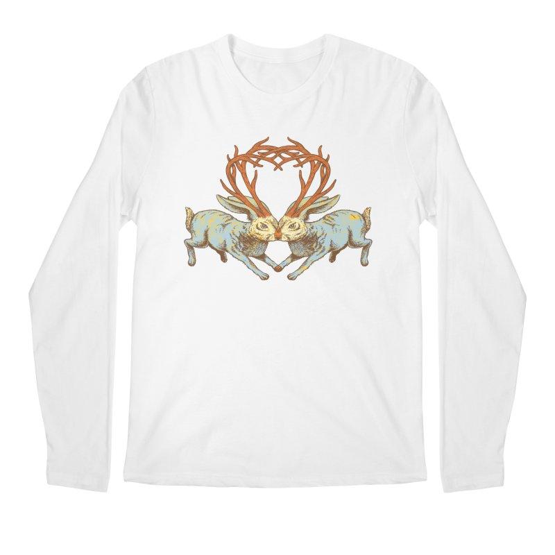 Jackalope love Men's Longsleeve T-Shirt by sturges artist shop