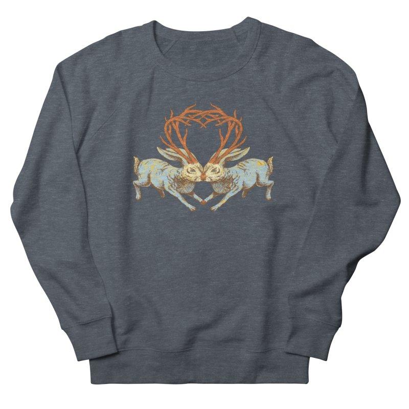 Jackalope love Women's Sweatshirt by sturges artist shop