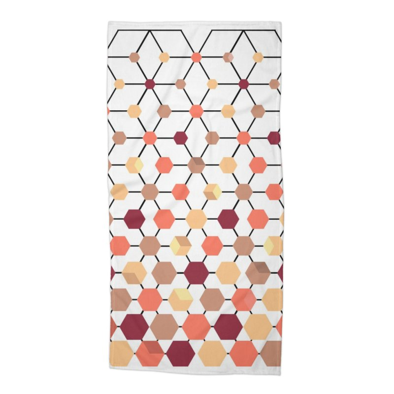 PeachCube Accessories Beach Towel by sturges artist shop