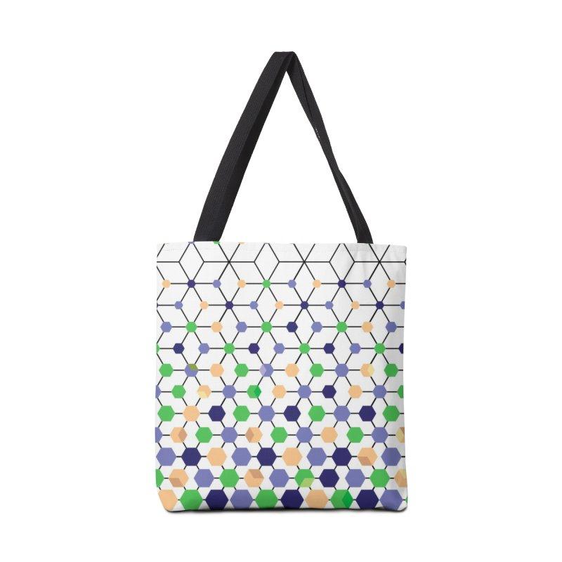 Blackberry Cube Accessories Bag by sturges artist shop