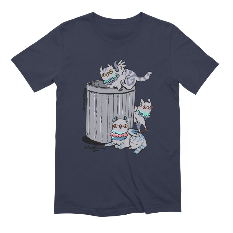 Trash Gryphons Men's Extra Soft T-Shirt by Art of Wendy Xu's Artist Shop