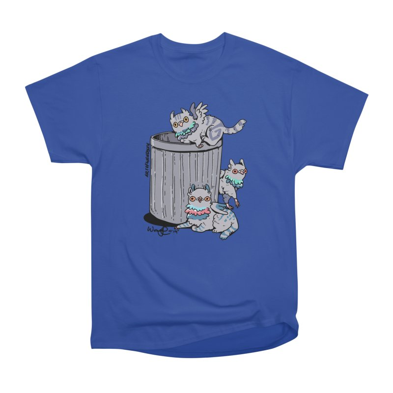 Trash Gryphons Men's Heavyweight T-Shirt by Art of Wendy Xu's Artist Shop