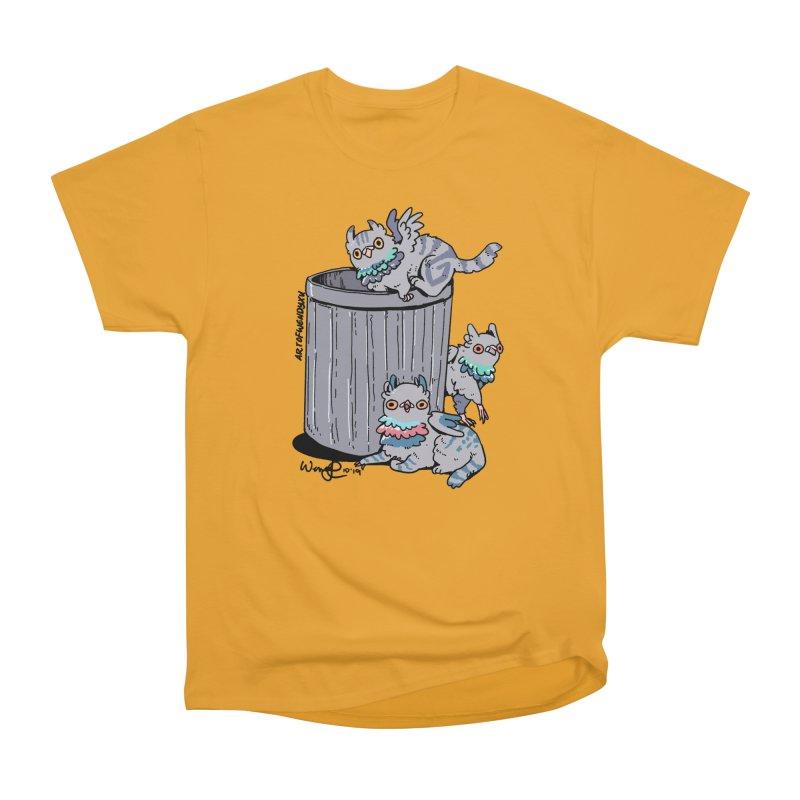 Trash Gryphons Men's Heavyweight T-Shirt by Art of Wendy Xu's Artist Shop