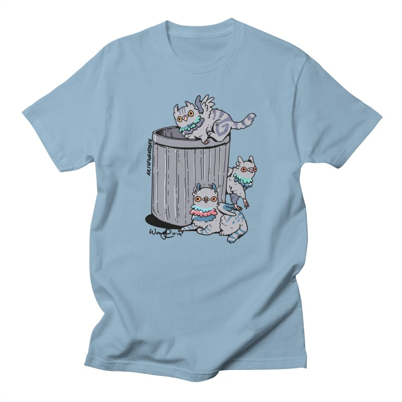 Trash Gryphons Men's Regular T-Shirt by Art of Wendy Xu's Artist Shop