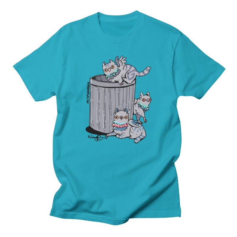 Trash Gryphons Men's Regular T-Shirt by Art of Wendy Xu's Artist Shop