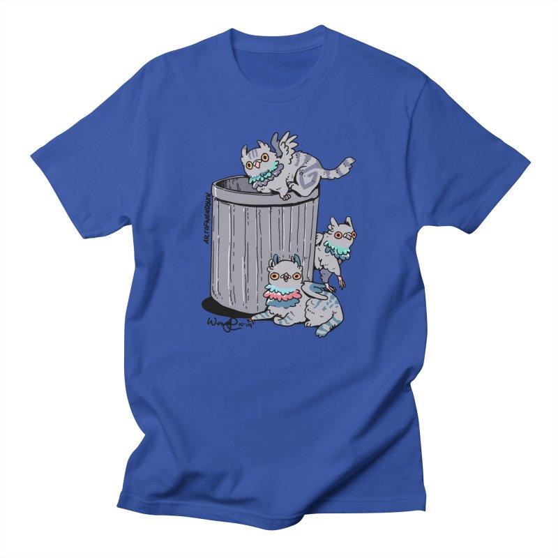 Trash Gryphons Men's T-Shirt by Art of Wendy Xu's Artist Shop