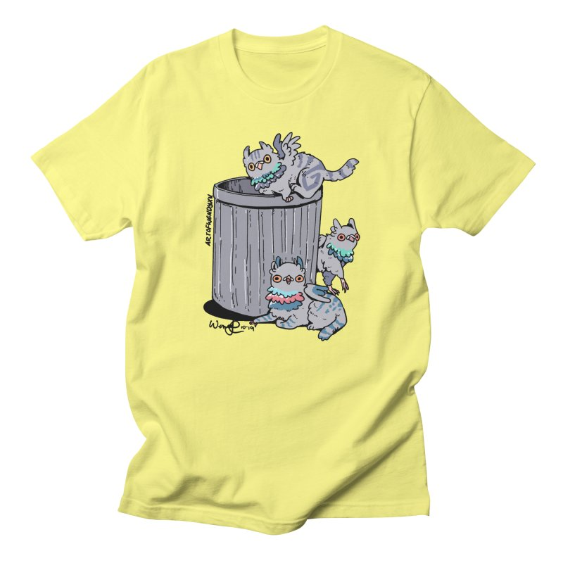 Trash Gryphons Men's T-Shirt by Art of Wendy Xu's Artist Shop