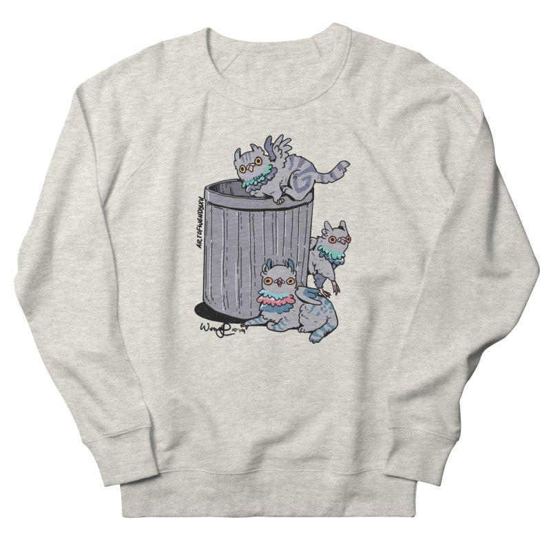 Trash Gryphons Women's French Terry Sweatshirt by Art of Wendy Xu's Artist Shop
