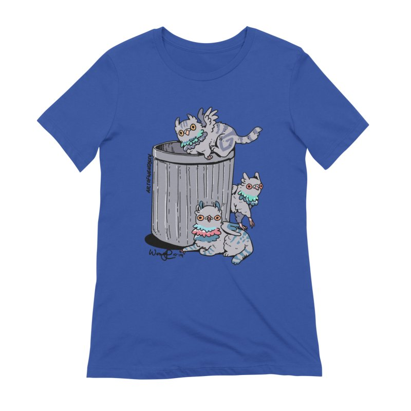 Trash Gryphons Women's T-Shirt by Art of Wendy Xu's Artist Shop