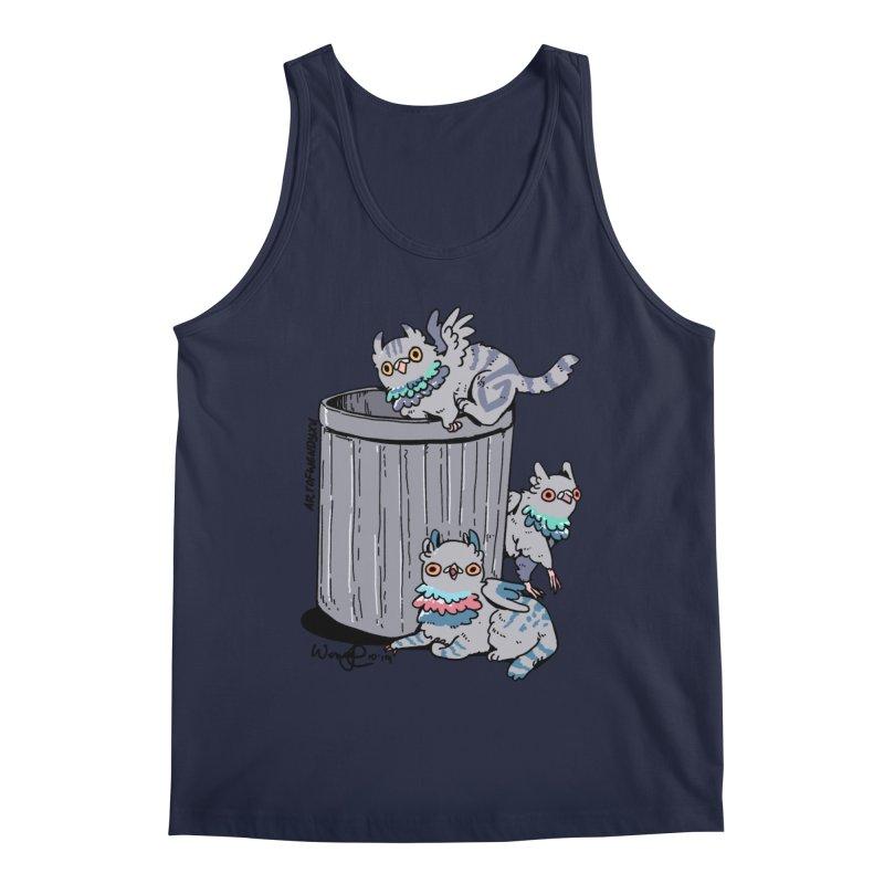 Trash Gryphons Men's Regular Tank by Art of Wendy Xu's Artist Shop