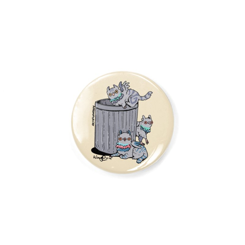 Trash Gryphons Accessories Button by Art of Wendy Xu's Artist Shop