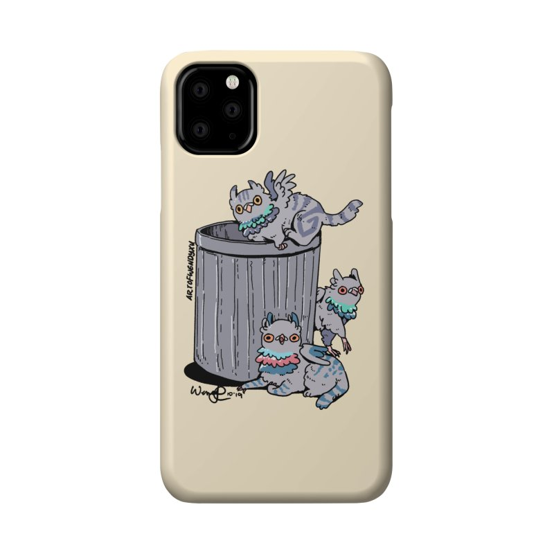 Trash Gryphons Accessories Phone Case by Art of Wendy Xu's Artist Shop