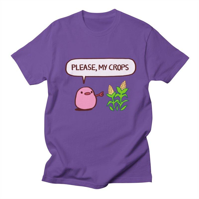Please, My Crops Men's T-Shirt by Art of Wendy Xu's Artist Shop