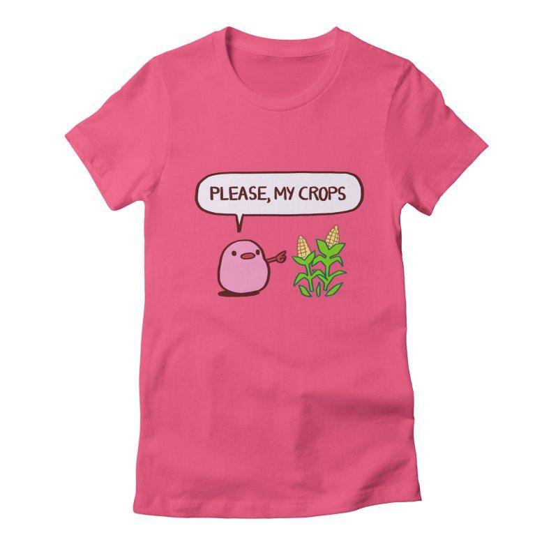Please, My Crops Women's T-Shirt by Art of Wendy Xu's Artist Shop