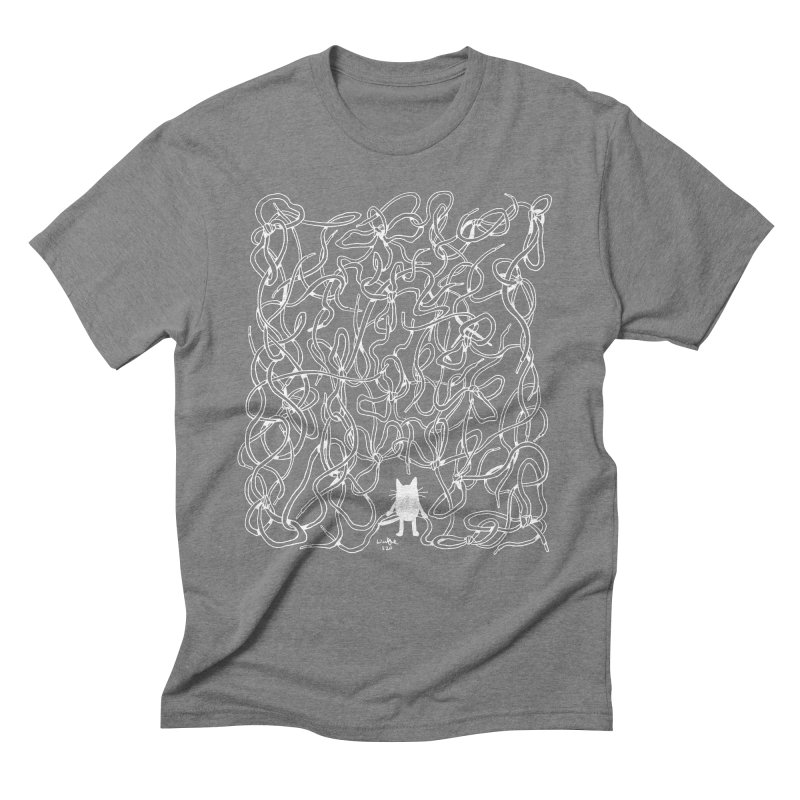 In Tangles Men's T-Shirt by Art of Wendy Xu's Artist Shop