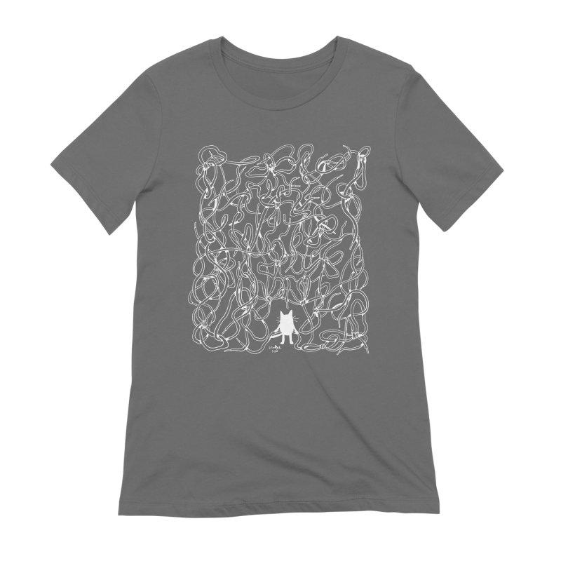 In Tangles Women's T-Shirt by Art of Wendy Xu's Artist Shop