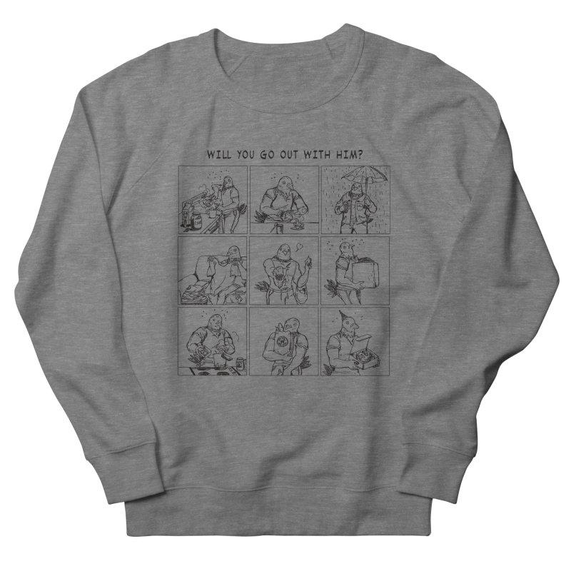 Terry Shin! Women's French Terry Sweatshirt by Art of Wendy Xu's Artist Shop