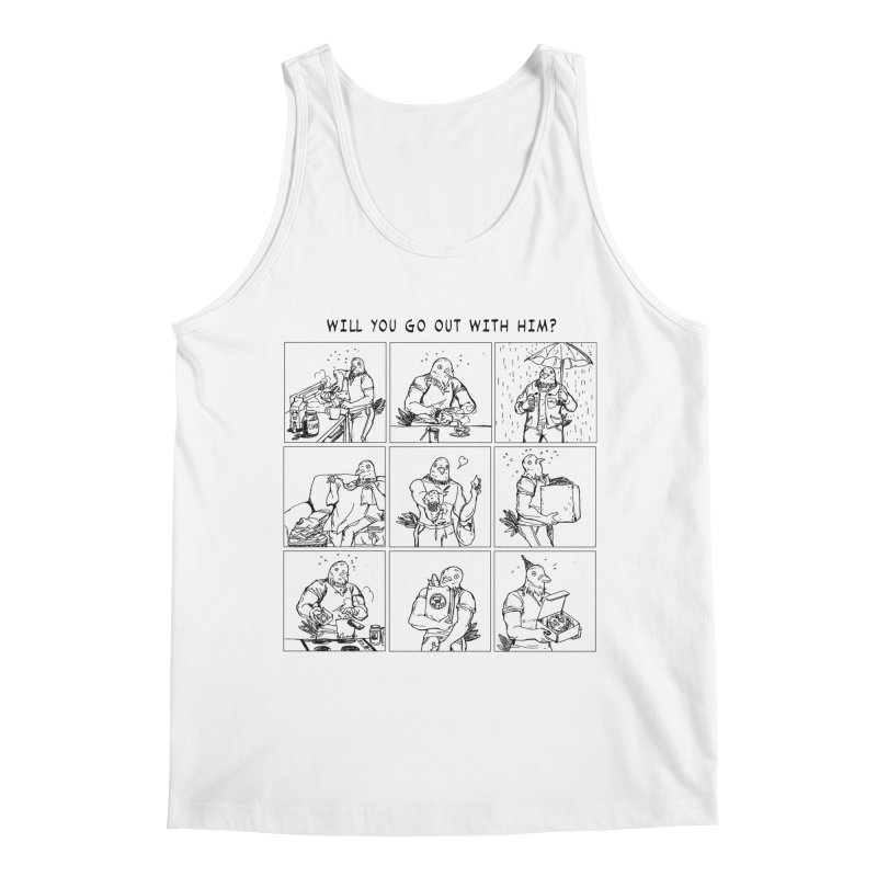 Terry Shin! Men's Tank by Art of Wendy Xu's Artist Shop