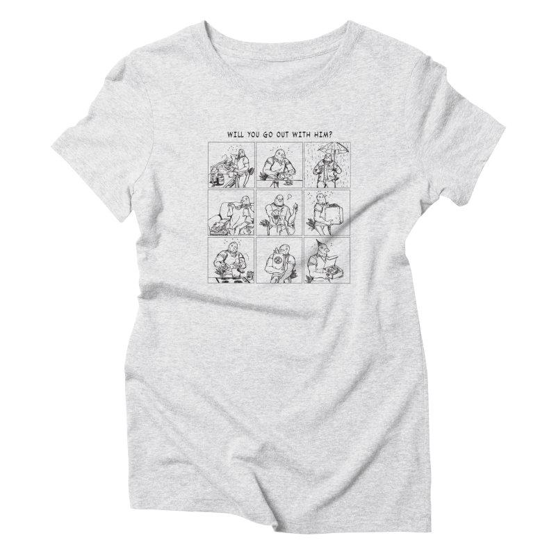 Terry Shin! Women's T-Shirt by Art of Wendy Xu's Artist Shop