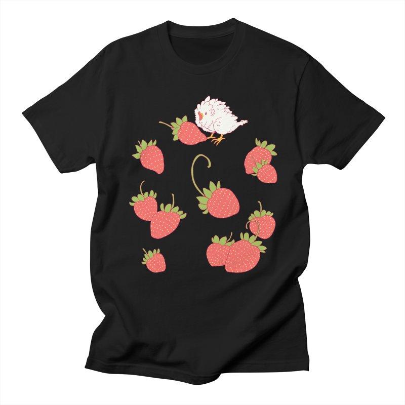 strawbirb (tianyulong confusci) Women's Regular Unisex T-Shirt by Art of Wendy Xu's Artist Shop