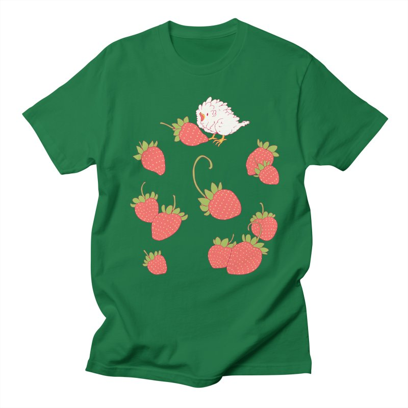 strawbirb (tianyulong confusci) Women's Regular Unisex T-Shirt by artofwendyxu's Artist Shop