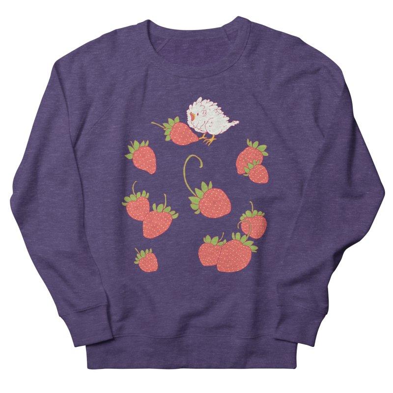 strawbirb (tianyulong confusci) Women's Sweatshirt by artofwendyxu's Artist Shop