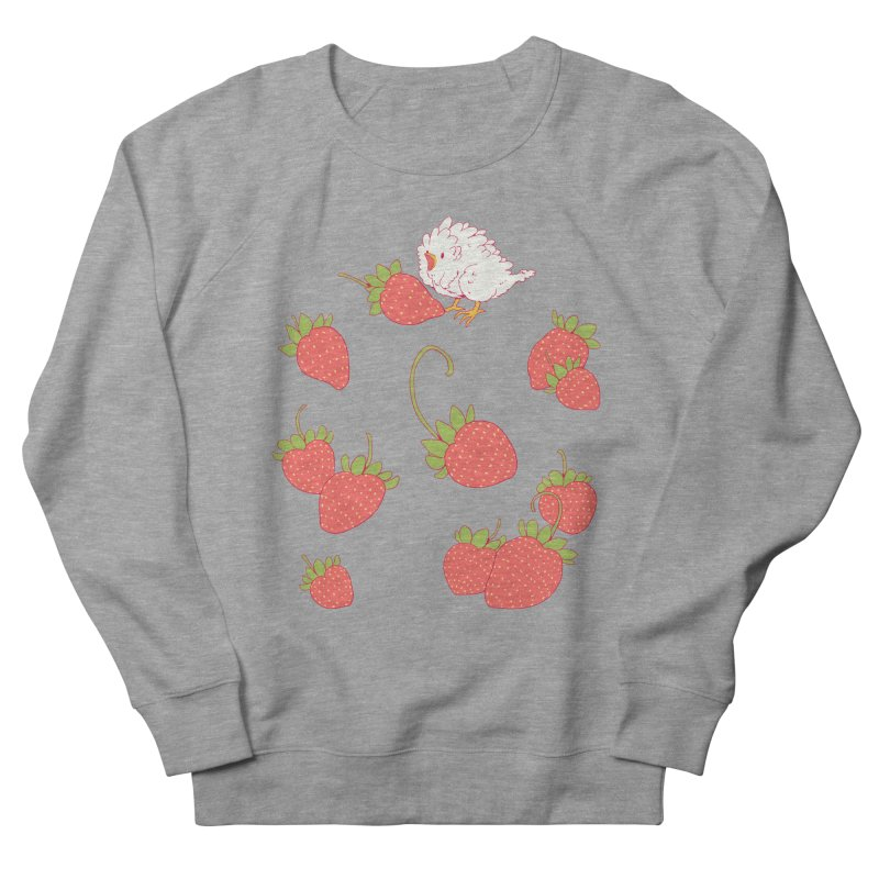 strawbirb (tianyulong confusci) Men's French Terry Sweatshirt by artofwendyxu's Artist Shop