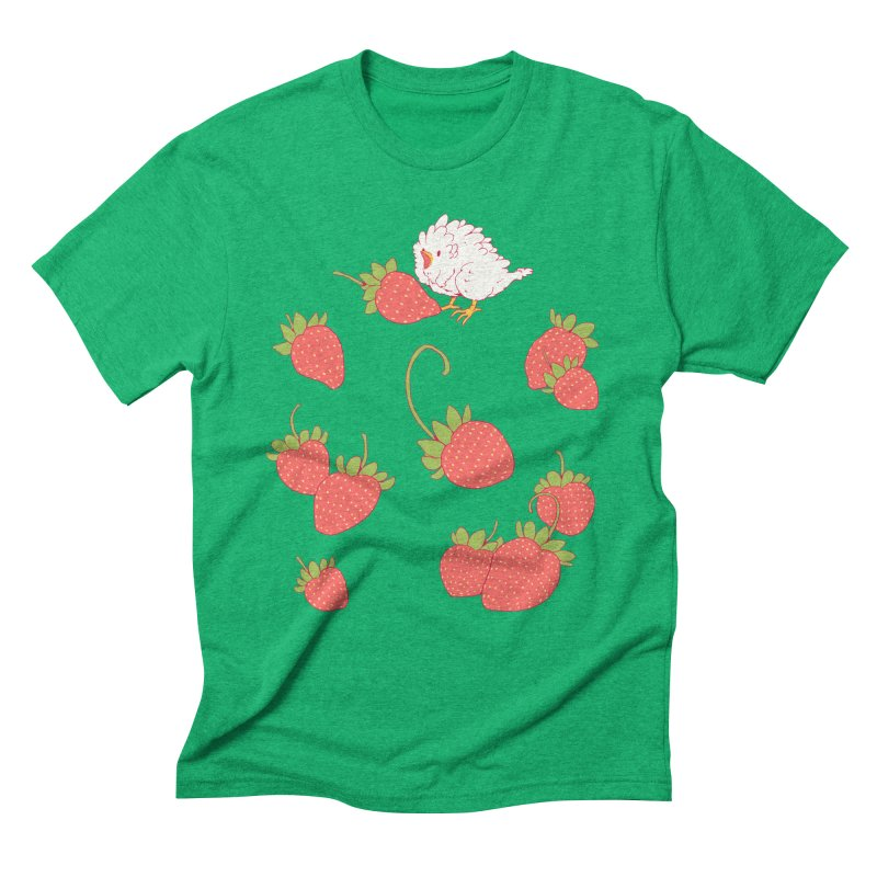 strawbirb (tianyulong confusci) Men's Triblend T-Shirt by Art of Wendy Xu's Artist Shop