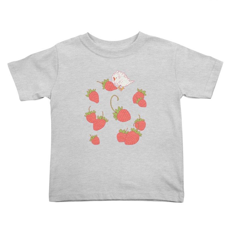strawbirb (tianyulong confusci) Kids Toddler T-Shirt by artofwendyxu's Artist Shop