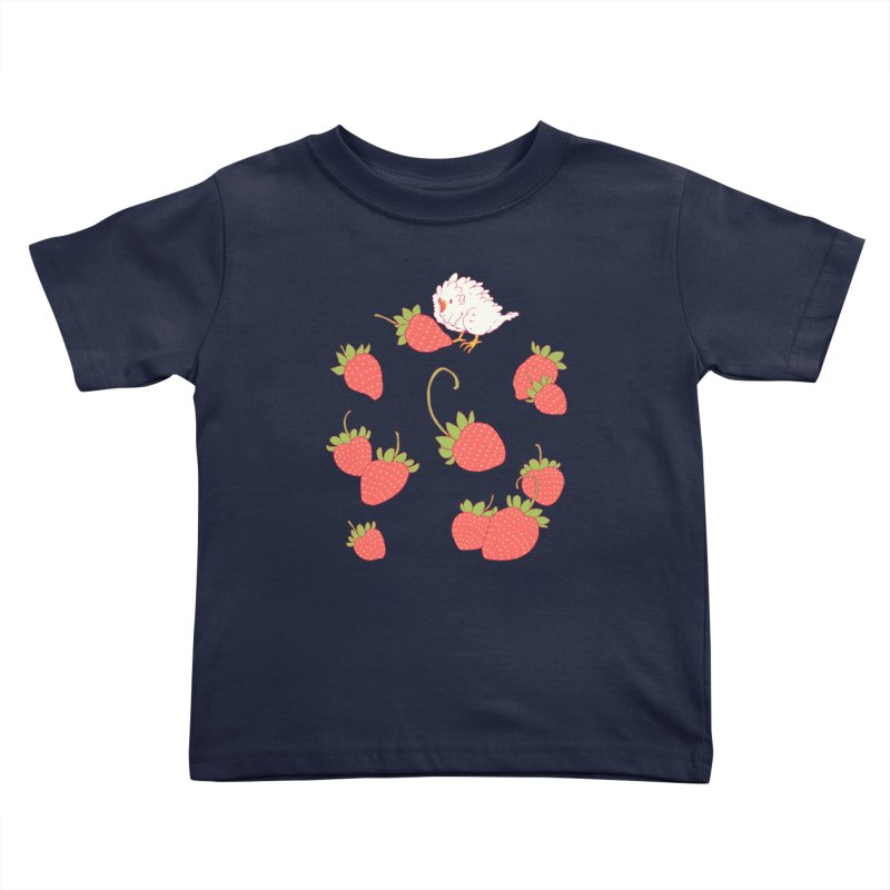 strawbirb (tianyulong confusci) Kids Toddler T-Shirt by artofwendyxu's Artist Shop