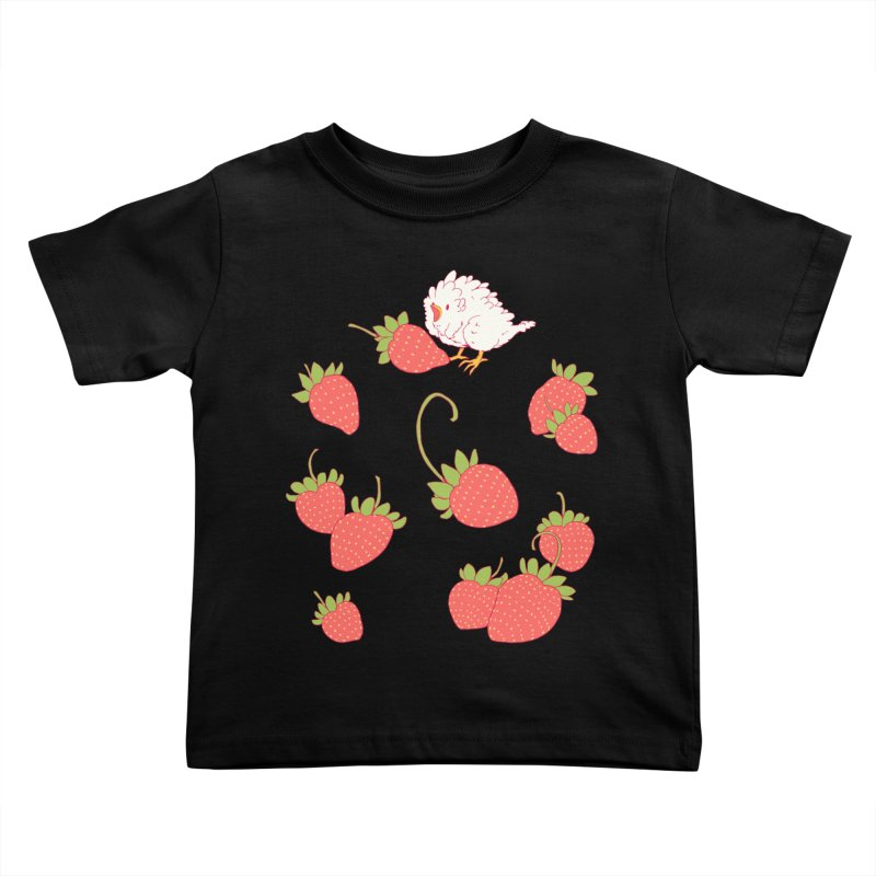 strawbirb (tianyulong confusci) Kids Toddler T-Shirt by Art of Wendy Xu's Artist Shop