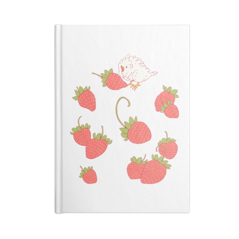strawbirb (tianyulong confusci) Accessories Lined Journal Notebook by Art of Wendy Xu's Artist Shop