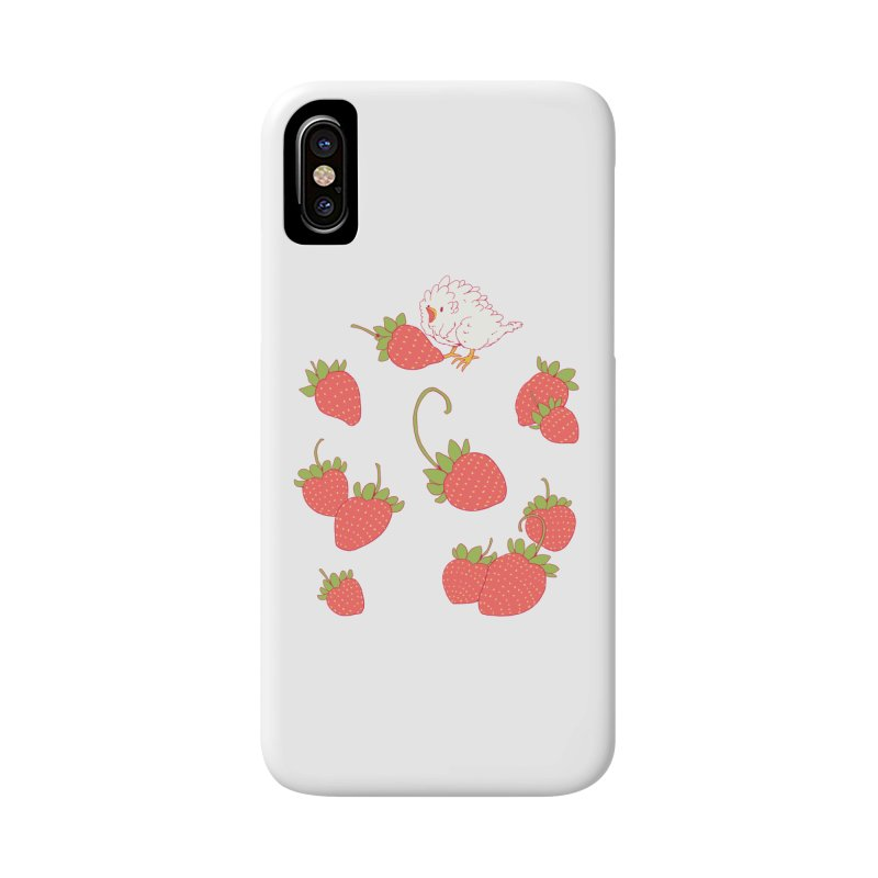 strawbirb (tianyulong confusci) Accessories Phone Case by artofwendyxu's Artist Shop