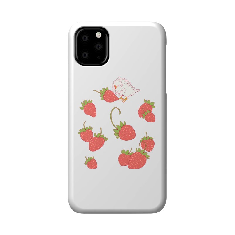 strawbirb (tianyulong confusci) Accessories Phone Case by Art of Wendy Xu's Artist Shop