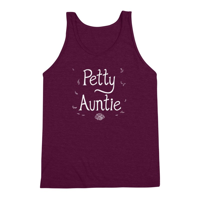 petty auntie Men's Triblend Tank by Art of Wendy Xu's Artist Shop