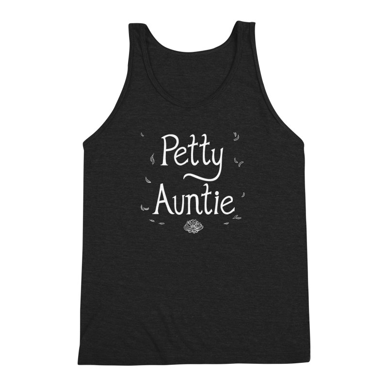 petty auntie Men's Triblend Tank by artofwendyxu's Artist Shop