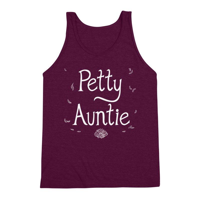 petty auntie Men's Triblend Tank by Art of Wendy Xu's Artist Shop