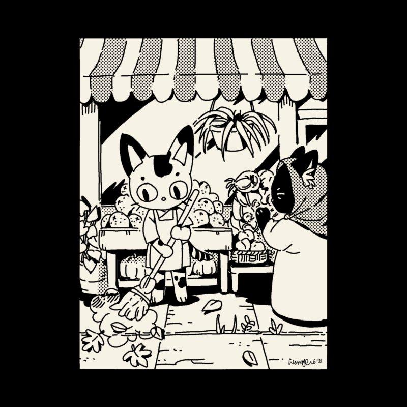 Market Street Cats Men's T-Shirt by Art of Wendy Xu's Artist Shop