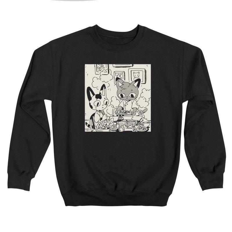 Hotpot Cats Women's Sweatshirt by Art of Wendy Xu's Artist Shop