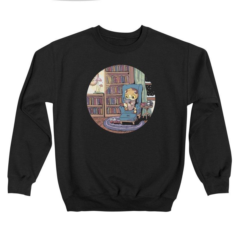 Cozy Evening Men's Sweatshirt by Art of Wendy Xu's Artist Shop